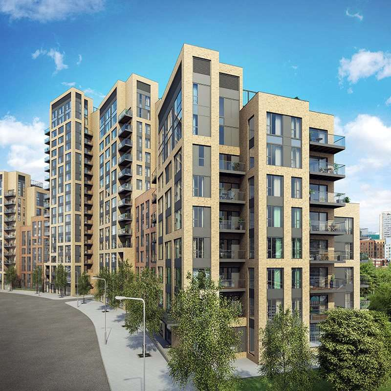 1 Bedroom Apartment Flat for sale in Santina Morello, Cherry Orchard Road, Croydon