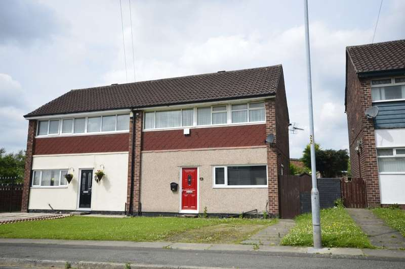 2 Bedrooms Semi Detached House for sale in Mossfield Road, Kearsley, Bolton, BL4