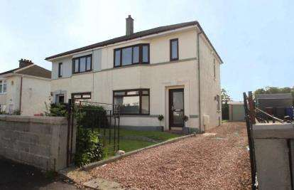 2 Bedrooms Semi Detached House for sale in Bathgo Avenue, Paisley