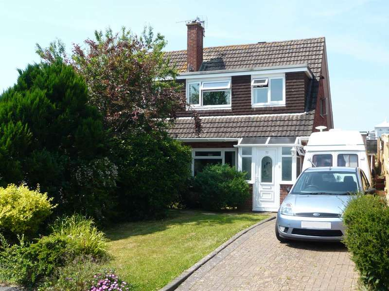 3 Bedrooms Semi Detached House for sale in Birchwood Road, Exmouth