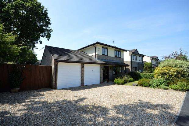 4 Bedrooms Detached House for sale in Shapley Way, Liverton, Newton Abbot, Devon