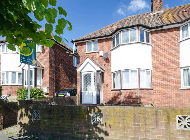 3 Bedrooms Semi Detached House for sale in Victoria Avenue, Wembley Park, HA9
