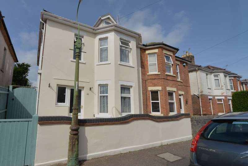 4 Bedrooms Semi Detached House for sale in Shelbourne rd, Bournemouth, Dorset, BH8