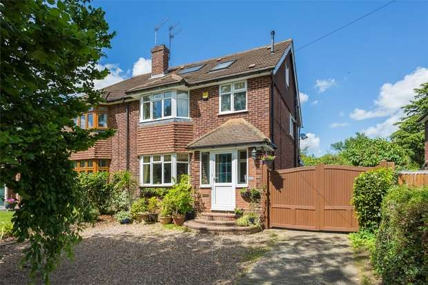 5 Bedrooms Semi Detached House for sale in Bedford Avenue, Little Chalfont, Buckinghamshire