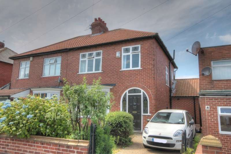3 Bedrooms Semi Detached House for sale in Shipley Avenue, Fenham, Newcastle Upon Tyne, NE4