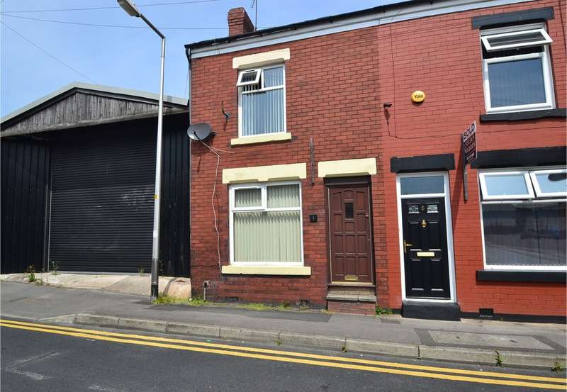 2 Bedrooms End Of Terrace House for sale in Upper Brook Street, Stockport SK1 3BW