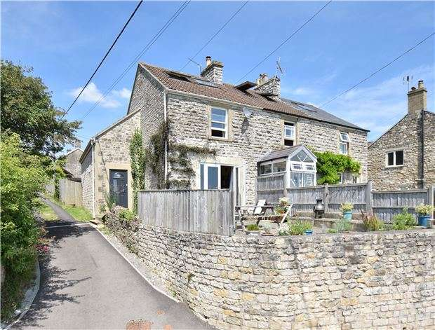 4 Bedrooms End Of Terrace House for sale in Shoscombe, BATH, Somerset, BA2 8LS