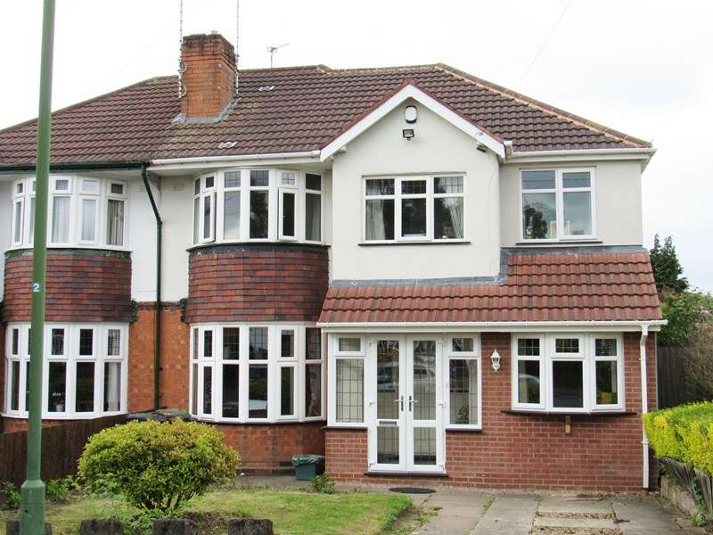 5 Bedrooms Semi Detached House for sale in Wells Green Road, Solihull