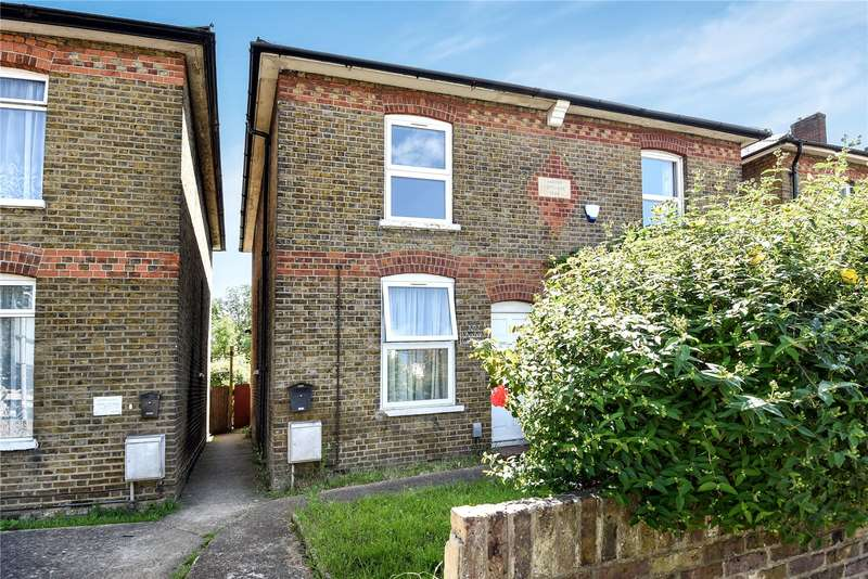 3 Bedrooms Semi Detached House for sale in Anchor Cottages, High Street, Cowley, Uxbridge, UB8