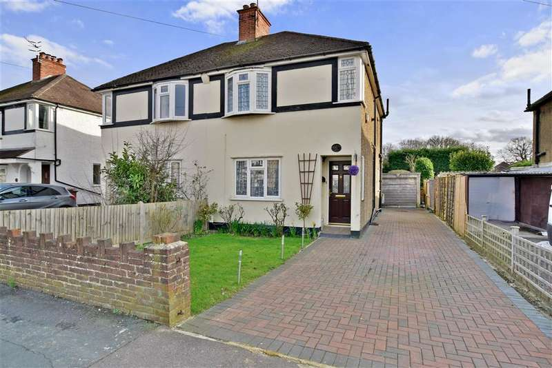 3 Bedrooms Semi Detached House for sale in Hanworth Road, Redhill, Surrey
