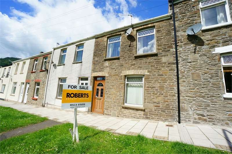 3 Bedrooms Terraced House for sale in Feeder Row, Cwmcarn, NEWPORT, NP11