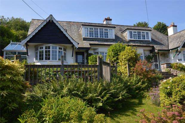 5 Bedrooms Semi Detached House for sale in Cartref, Torquay Road, Shaldon, Devon