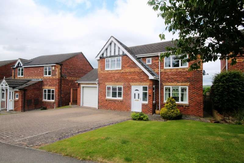 4 Bedrooms Detached House for sale in Castlehills, Castleside, Consett, DH8