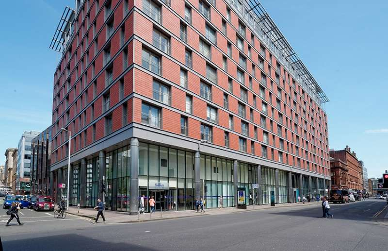 2 Bedrooms Flat for sale in The Bridge, 350 Argyle Street, Glasgow, G2 8ND