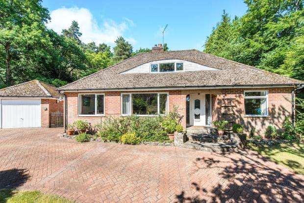 4 Bedrooms Bungalow for sale in Lower Bourne, Farnham, Surrey