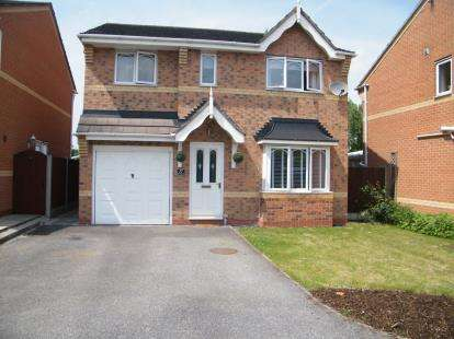 4 Bedrooms Detached House for sale in The Fairways, Winsford, Cheshire, England