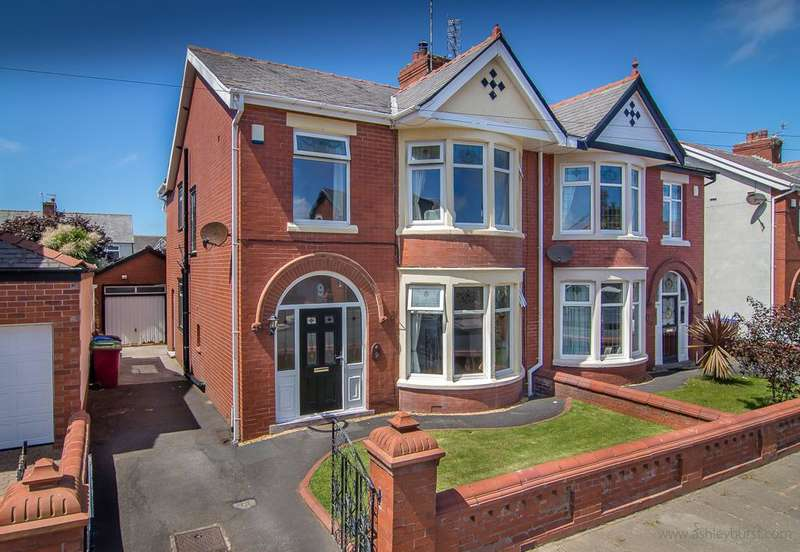 4 Bedrooms Semi Detached House for sale in Gosforth Avenue, Blackpool, FY2 9UB