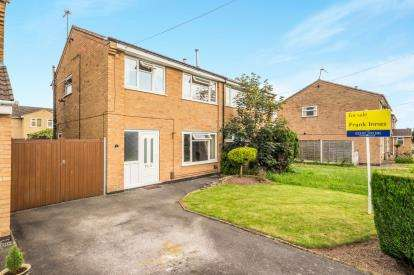 3 Bedrooms Semi Detached House for sale in Wheatland Close, Stenson Fields, Derby, Derbyshire