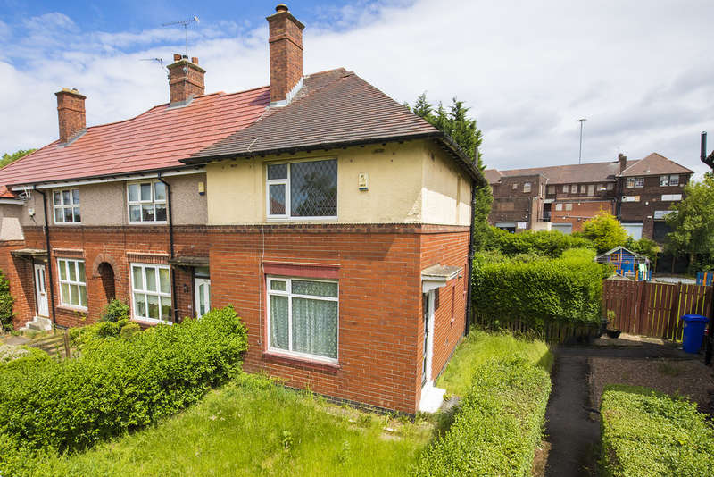 2 Bedrooms End Of Terrace House for sale in 45 Dagnam Crescent, Arbourthorne, S2 2FF