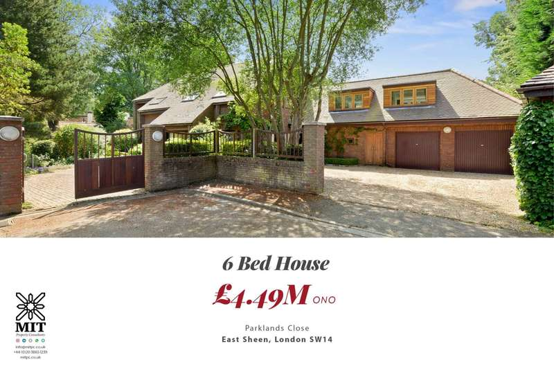 6 Bedrooms House for sale in Parklands Close, East Sheen