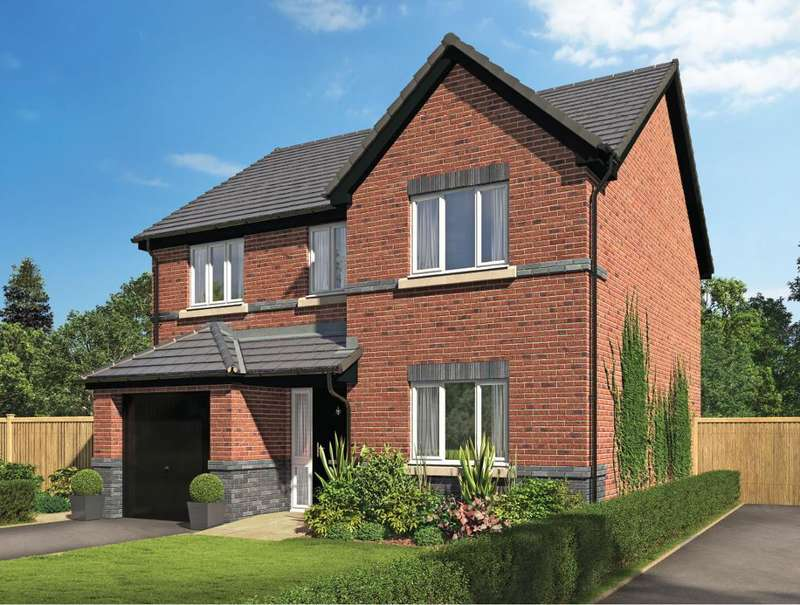 4 Bedrooms Detached House for sale in Plot 49, The Lucerne, Riversleigh, Warton, Preston, Lancashire, PR4 1AH