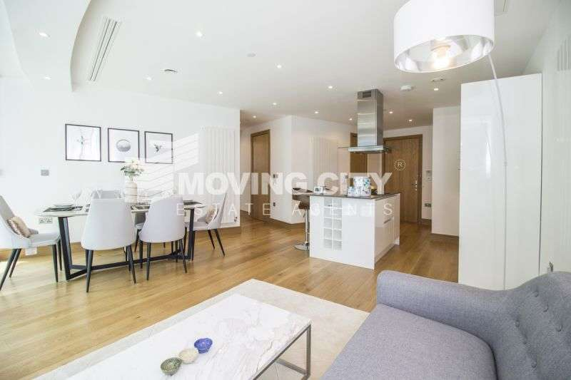 2 Bedrooms Apartment Flat for sale in Arena Tower,25 Crossharbour Plaza, Canary Wharf, E14