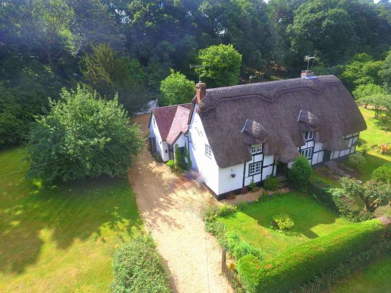 4 Bedrooms Semi Detached House for sale in Hangersley, Ringwood, BH24 3JN