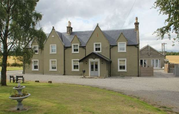 7 Bedrooms Detached House for sale in The Old Schoolhouse, Logie Easter, Invergordon, Highland