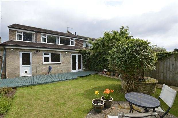 4 Bedrooms Semi Detached House for sale in Burrough Way, Winterbourne, BRISTOL, BS36 1LE