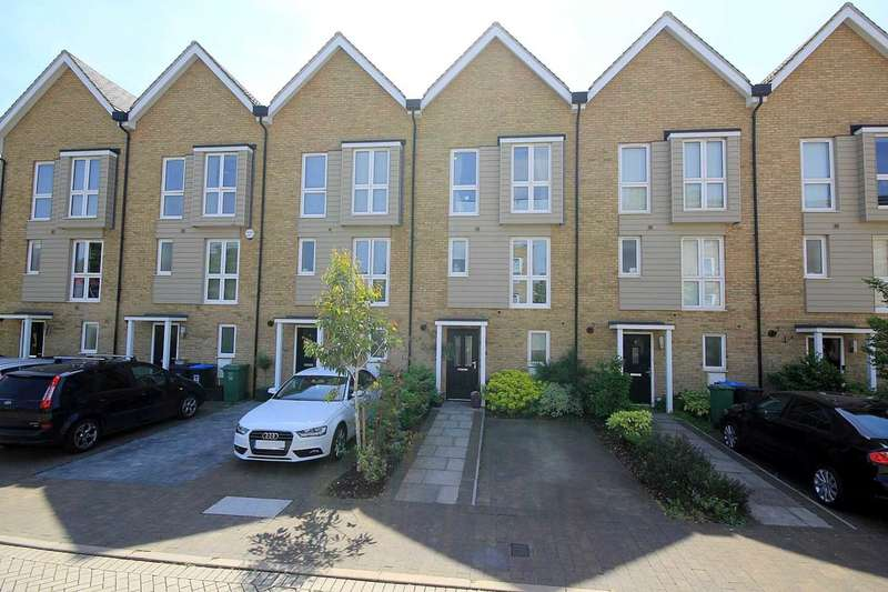 3 Bedrooms Town House for sale in Recently constructed 3 BED HOUSE in sought after Croxley Road,Nash Mills Wharf