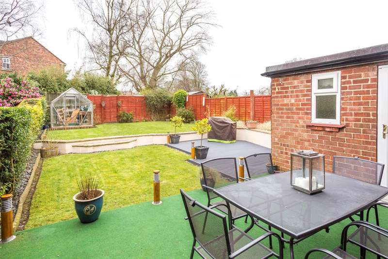 4 Bedrooms Terraced House for sale in Manor Drive, Brafferton, York, YO61
