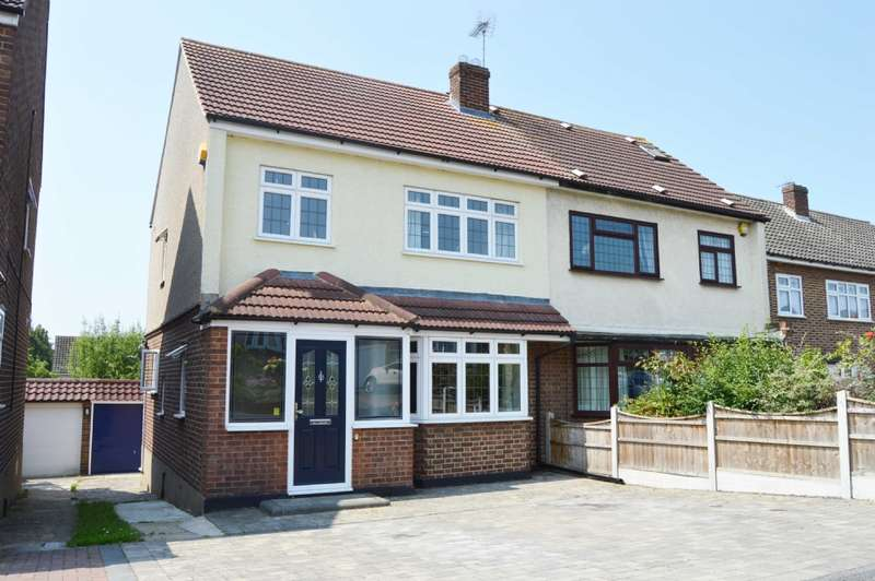 3 Bedrooms Semi Detached House for sale in Arlington Gardens, Harold Wood