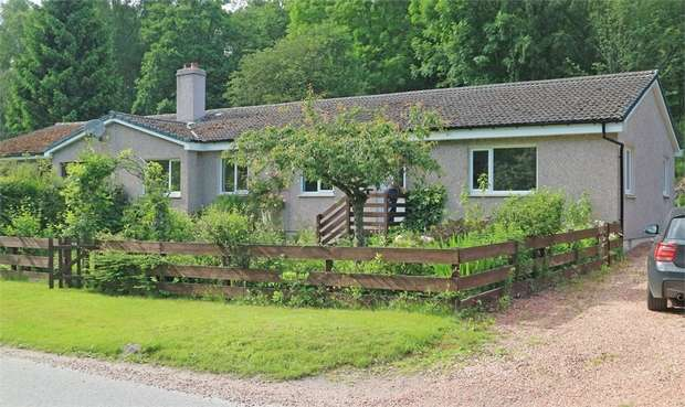 4 Bedrooms Semi Detached Bungalow for sale in Tummel Bridge, Pitlochry, Perth and Kinross