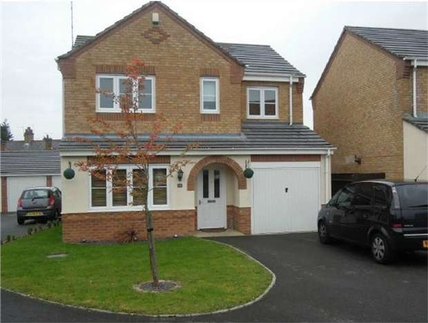 4 Bedrooms Detached House for sale in Rosemary Way, Bermuda Park, Nuneaton, Warwickshire