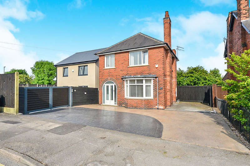 3 Bedrooms Detached House for sale in Upper Dunstead Road, Langley Mill, Nottingham, NG16