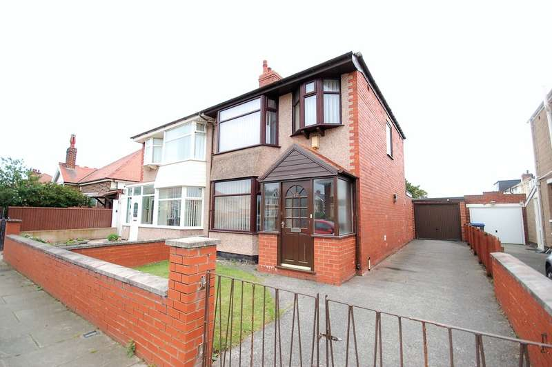 3 Bedrooms Semi Detached House for sale in Eastbourne Road, Blackpool