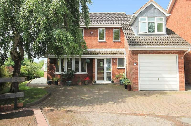 4 Bedrooms Detached House for sale in Bishops Cleeve, Austrey, CV9 3EU