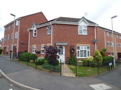 3 Bedrooms Detached House for sale in Century Way, Halesowen, West Midlands