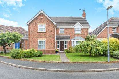 4 Bedrooms Detached House for sale in Tantallon Close, Berkeley Beverborne, Warndon Villages, Worcester