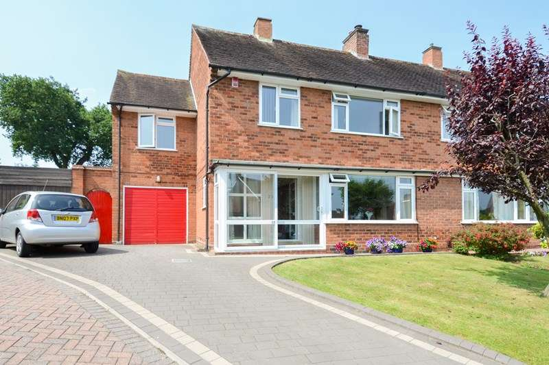 4 Bedrooms Semi Detached House for sale in Mimosa Close, Selly Oak, BOURNVILLE VILLAGE TRUST