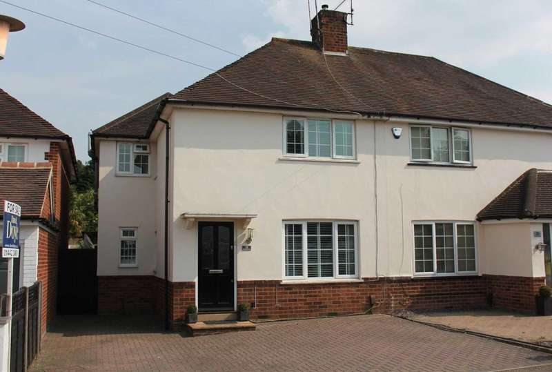 3 Bedrooms Semi Detached House for sale in 3 DOUBLE BEDROOM WITH 65` APPROX GARDEN IN Vauxhall Road,