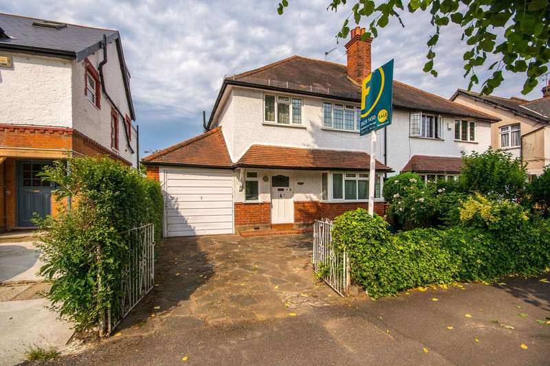 4 Bedrooms Semi Detached House for sale in St James Road, Sutton, SM1