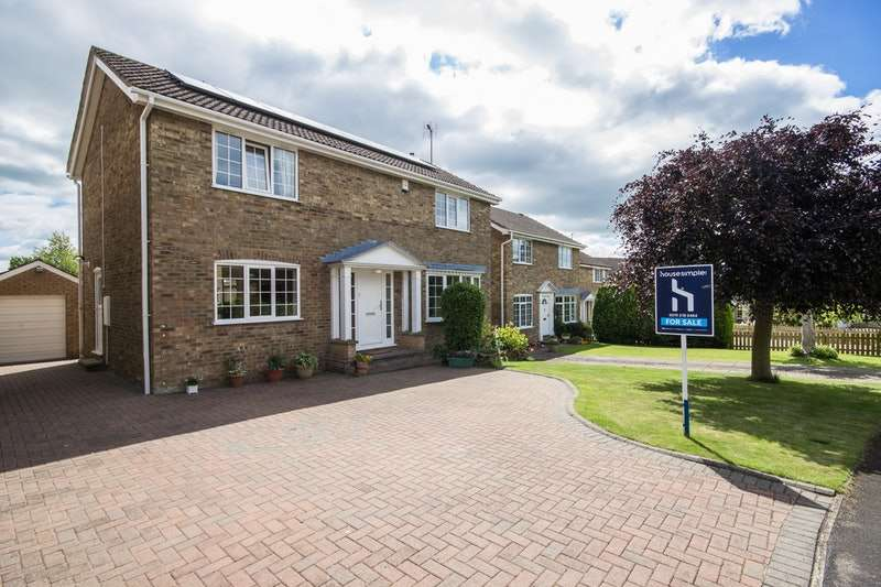 4 Bedrooms Detached House for sale in Russett Road, Malton, North Yorkshire, YO17