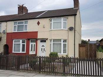 3 Bedrooms End Of Terrace House for sale in Max Road, Dovecot, Liverpool