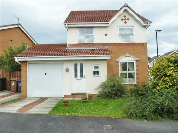 3 Bedrooms Detached House for sale in Gardner Park, North Shields, Tyne and Wear