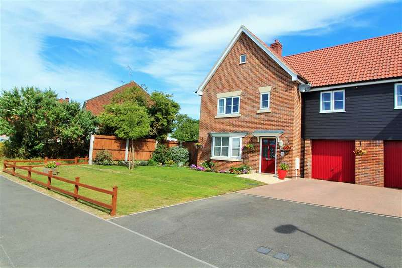 4 Bedrooms Semi Detached House for sale in Red Barn Road, Brightlingsea, Colchester