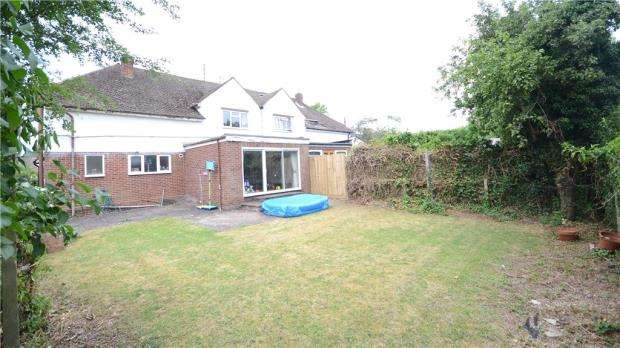 4 Bedrooms Semi Detached House for sale in Haldane Road, Caversham Heights, Reading