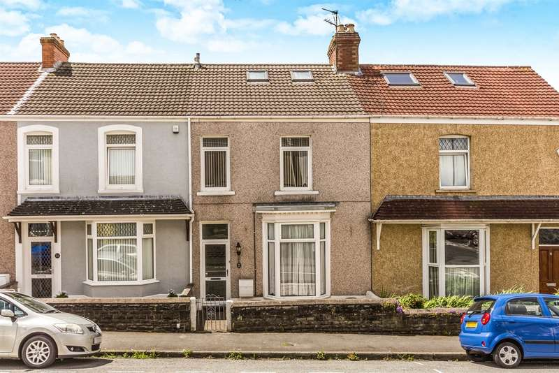 3 Bedrooms Terraced House for sale in Penbryn Terrace, Brynmill, Swansea