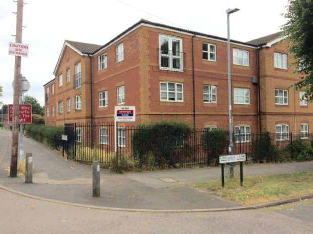 2 Bedrooms Apartment Flat for sale in Vernons Mews, Vernons Lane, Nuneaton