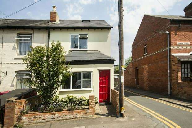 4 Bedrooms Terraced House for sale in Blenheim Gardens, Reading